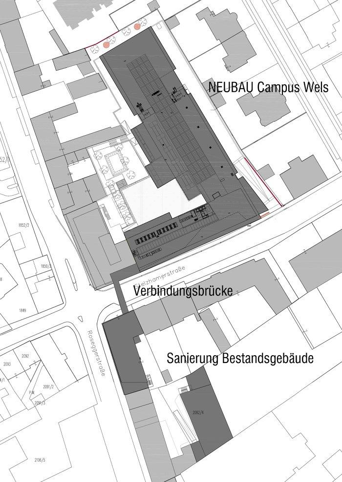 Foto Lageplan Treusch Architecture
