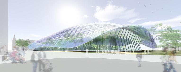Foto Riesentropenhalle